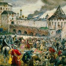 Освобождение Москвы от поляков. Празднование Казанской иконе Божией Матери
