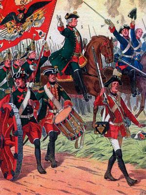 Семилетняя война 1756—1763 гг. Петр III выводит Россию из войны