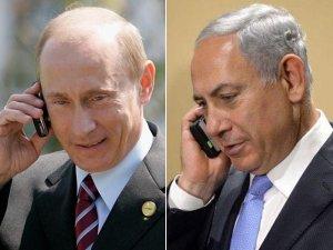 Путин 11 апреля в телефонной беседе с еврейским лидером Нетаньяху