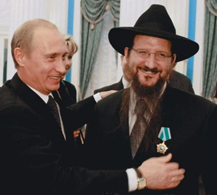 Путин наградил Лазара