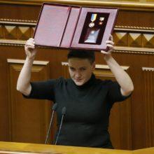 Второй фронт героини АТО Савченко: «Российская власть ‒ внешний враг-оккупант, украинская власть ‒ внутренний враг!»