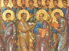 Собор славных и всехвальных 12 Апостолов