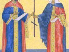 Свв. равноап. Царя Константина и Царицы Елены