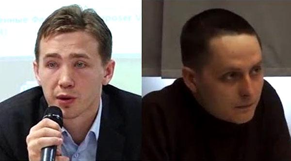 Дмитрий Василец иЕвгений Тимонин
