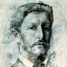 Умер художник Михаил Александрович Врубель