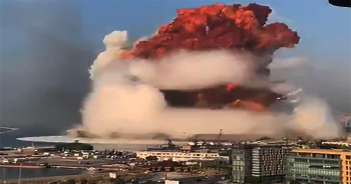 Бейрут был взорван. Взрыв в порту Бейрута