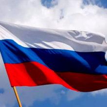Указом Ельцина установлен «День государственного флага РФ». Флаг бело-сине-красный