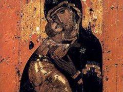 Празднование в честь иконы Владимiрской Божией Матери
