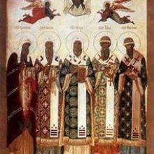 Память Святителей Московских Петра, Алексия, Ионы, Филиппа и Гермогена, всея Руси чудотворцев