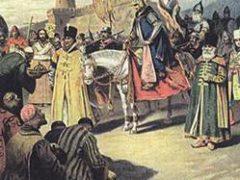 Покорение Казани войсками Иоанна IV Грозного