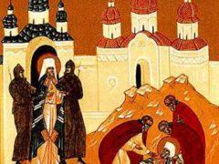 Убийство в Киеве митр. Владимiра, первого новомученика из числа русских иерархов