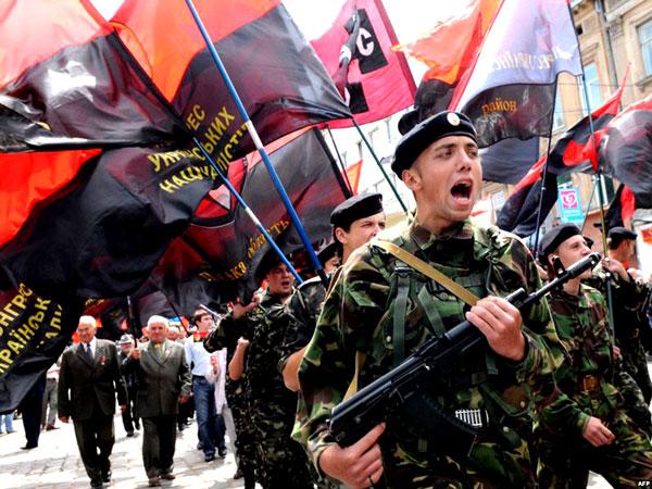 Нацисты из УНА шагают по городам Украины