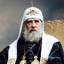 Избрание жребием Патриарха Тихона в Храме Христа Спасителя