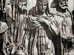 Кончина Царицы Анастасии, первой жены Царя Иоанна IV Грозного, которая является связующим звеном династий Рюриковичей и Романовых