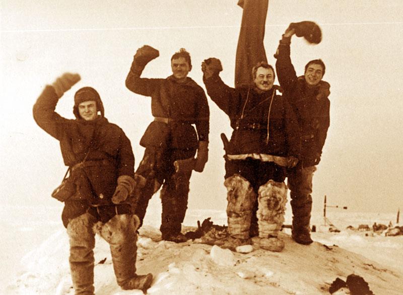 Первая полярная экспедиция северный полюс доклад 6034