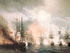 Разгром вице-адмиралом П.С. Нахимовым турецкого флота у мыса Синоп