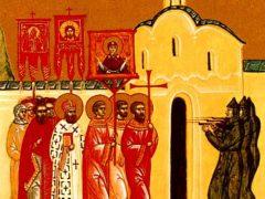 Расстрел крестных ходов в Туле и Харькове во время празднования Сретения Господня
