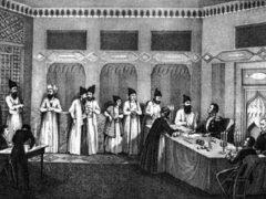 Заключение Туркманчайского мира, завершившего русско-иранскую войну 1826-1828 гг. Присоединение к России Эривани и Нахичевани
