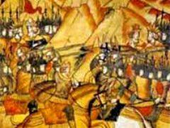 Битва на Косовом поле между сербами и турками. Видовдан